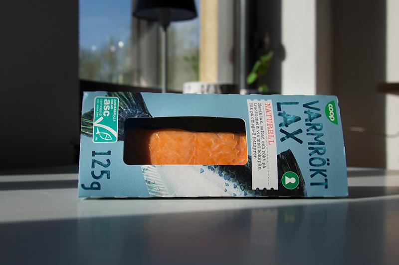 saumon fumé à chaud suédois