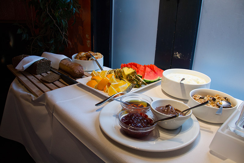 buffet petit dejeuner arhus danemark