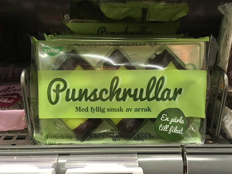 quel gâteau ramener de Suède