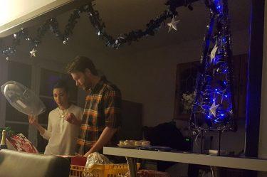 Martin passe Noël en France