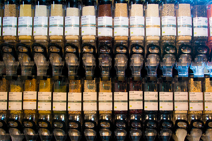 distributeurs gram produits secs