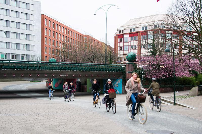 cyclistes à malmö