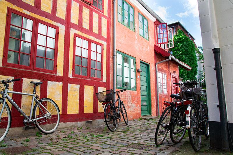 façades colorées danemark aarhus