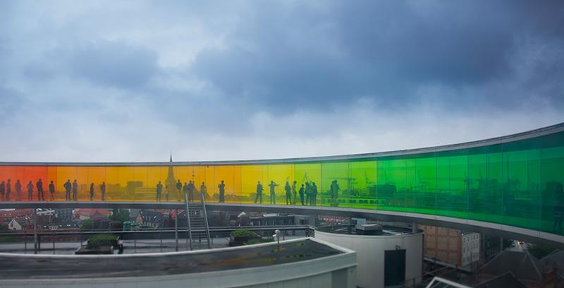 panorama coloré olafur eliasson aros museum