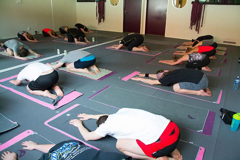 yoga team building incentive