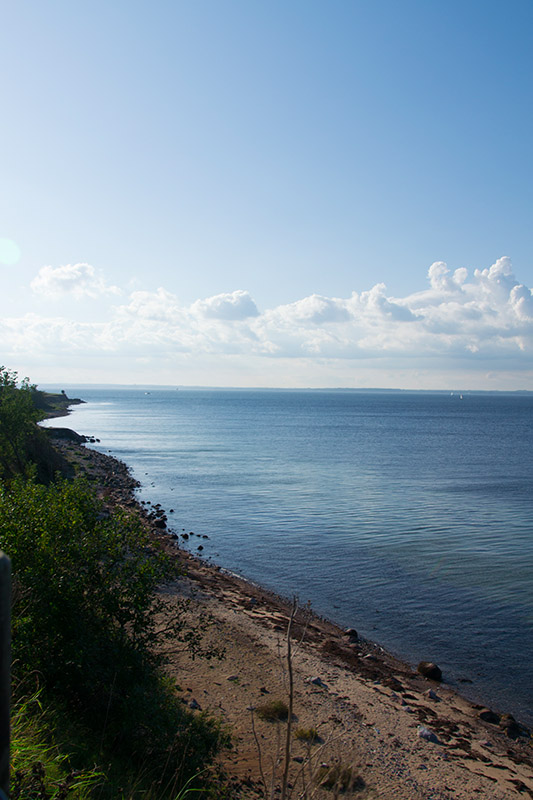 superbe vue de la côte à Ven