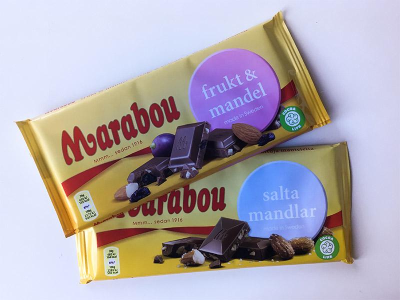chocolat marabou tablettes
