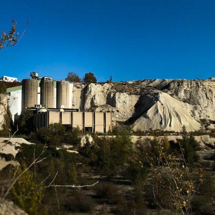 J'ai visité la carrière de calcaire à Limhamn