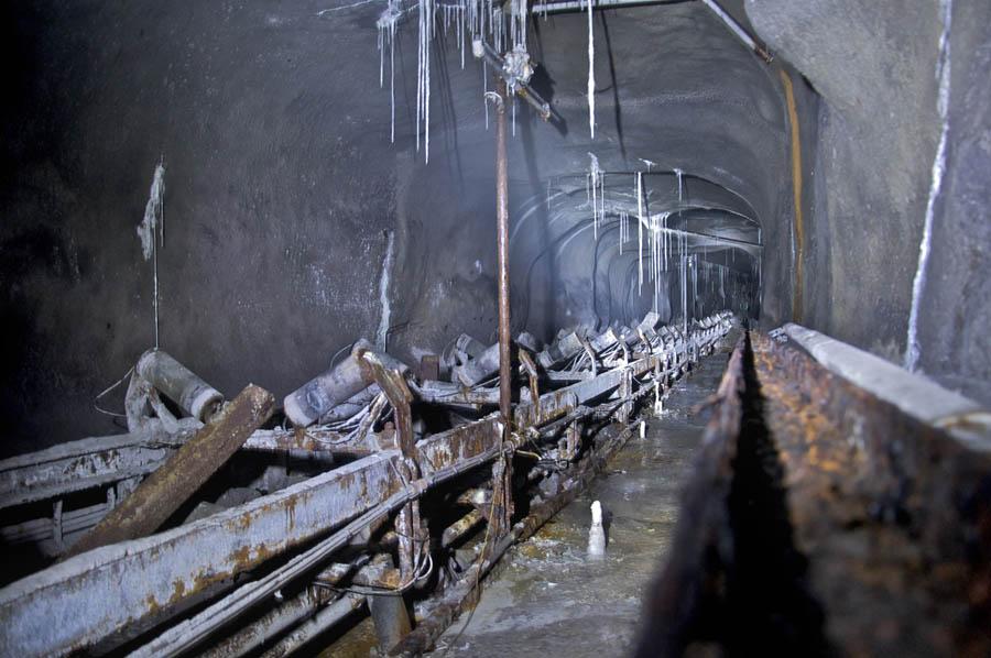 tunnel carrière calcaire